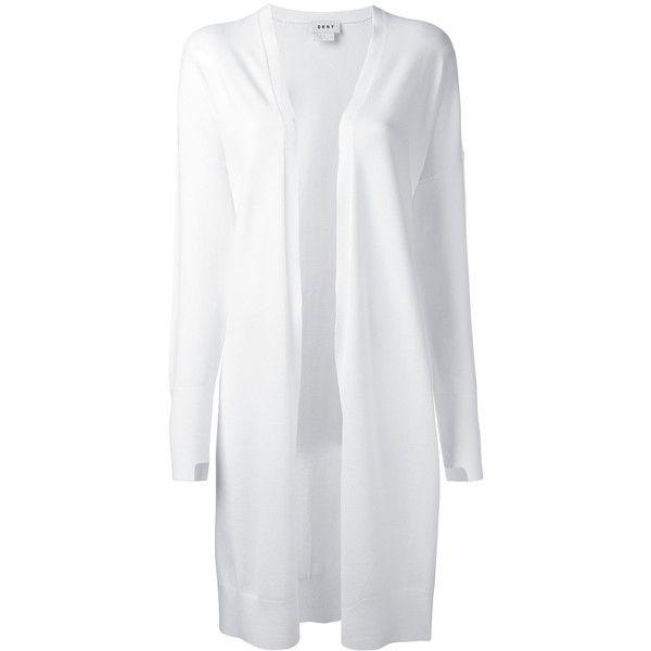 Long White Cardigans