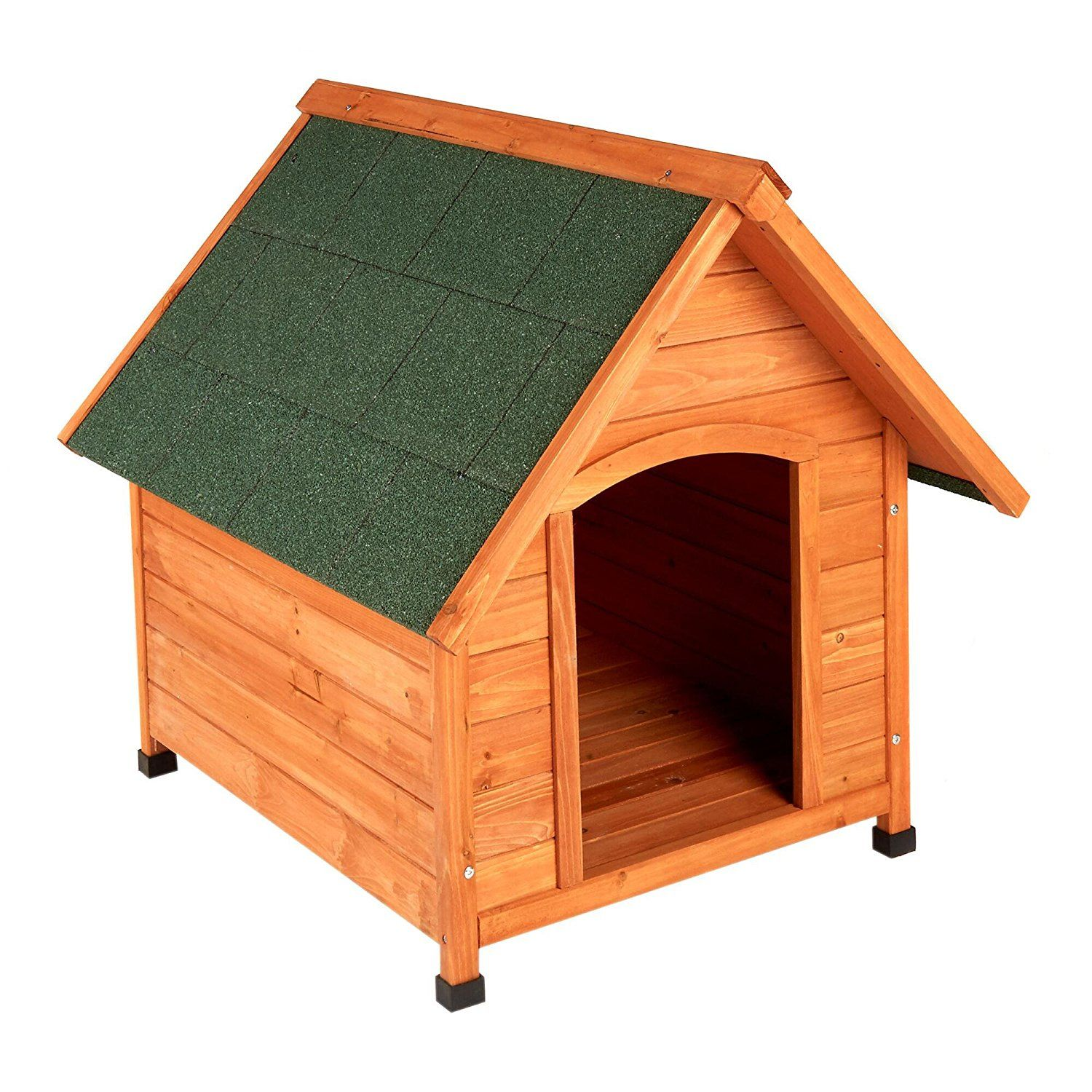 Fir Wood Dog House By Happy Paws Med Special Product Just For