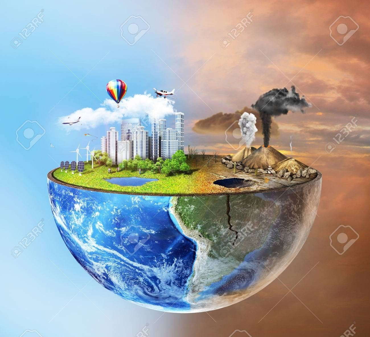 Stock Photo In 2020 Earth Drawings Pollution Pictures Save