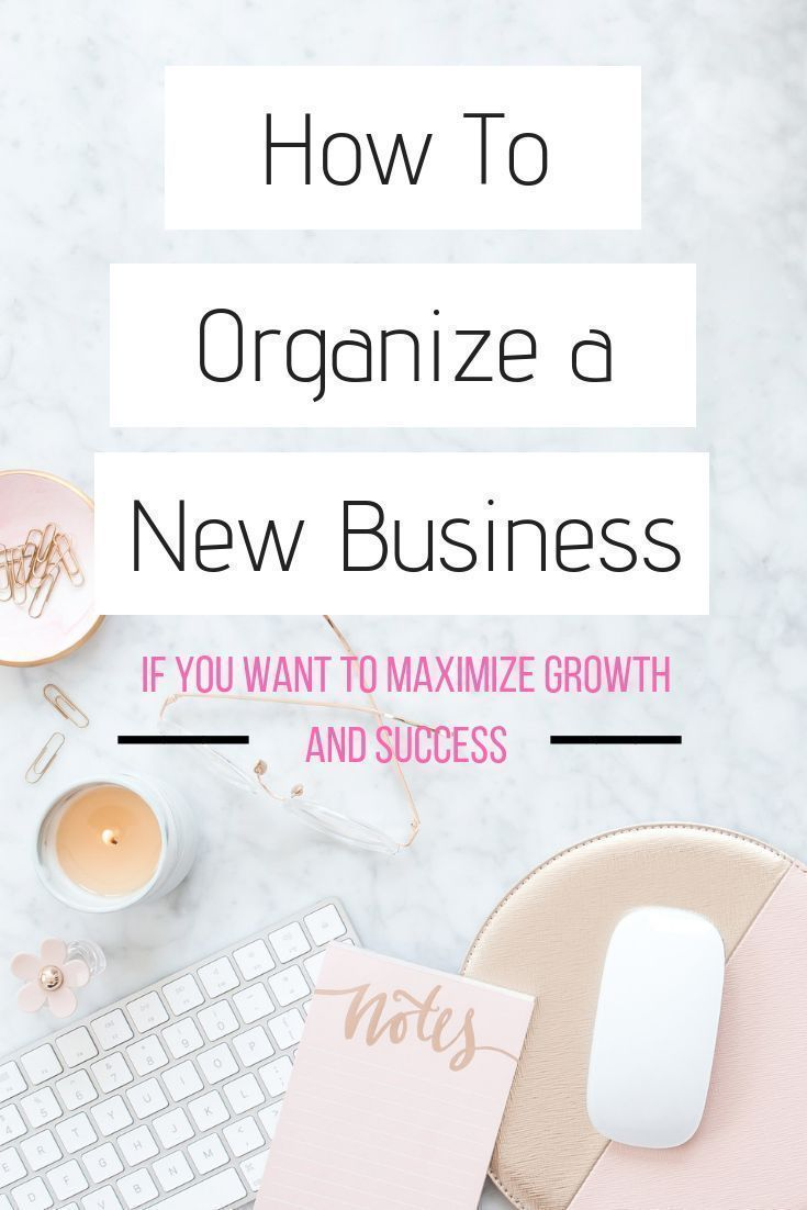 How to organize a new business for success. Easy tips for you to organize a business and help yourself work smarter, NOT harder. A kick ass amazing guide to organizing your business and getting your sh*t together!