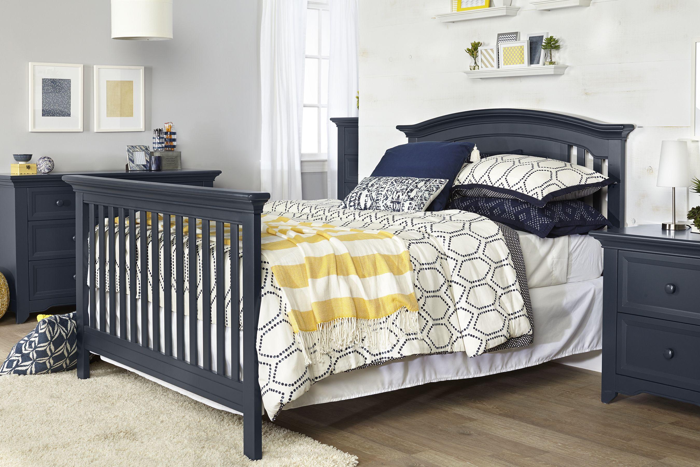 Baby Cache Harbor Full Bed In Navy Mist Babycache Crib Bed