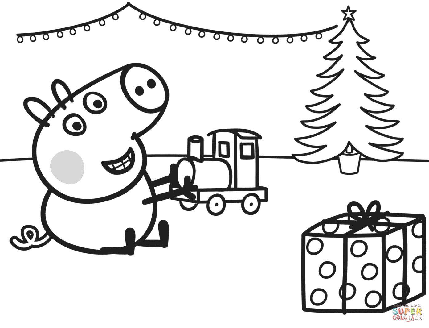 Peppa Pig Coloring Pages | Peppa pig coloring pages, Peppa pig ...