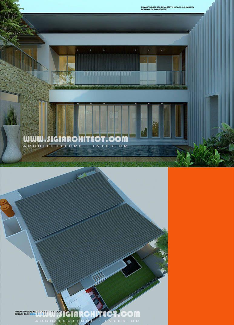 rumah-mewah-2-lantai-kolam-renang-atap tegola & rumah-mewah-2-lantai-kolam-renang-atap tegola | Home | Pinterest ...