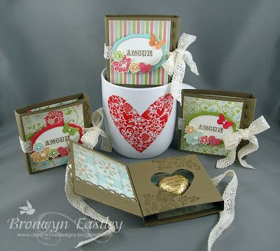 addINKtive designs: Vintage Valentine Chocolate Holders Tutorial