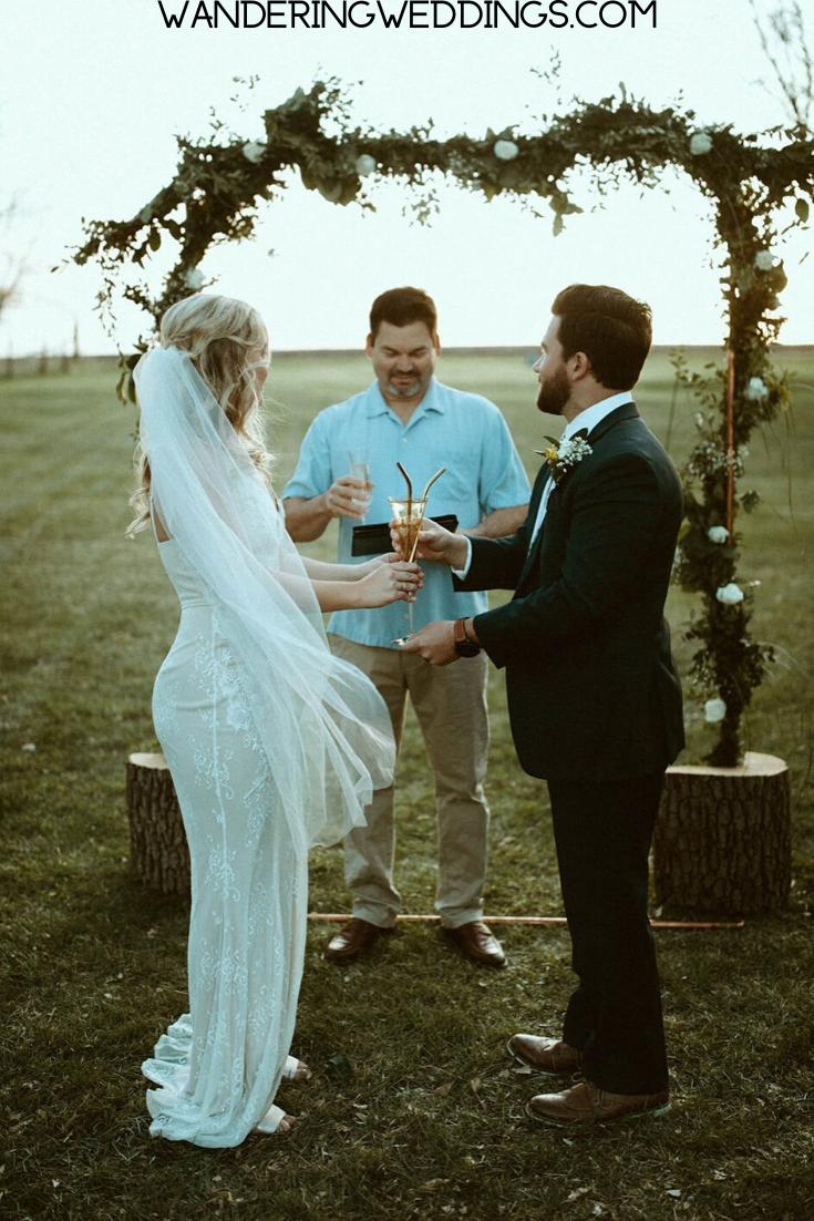 Live Stream Wedding Details Planning Tips Wandering Weddings In 2020 Backyard Wedding Ceremony Wedding Details Intimate Weddings