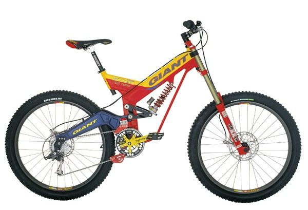 1996 Giant Atx One Dh Mt Bike Bike Giant Bikes