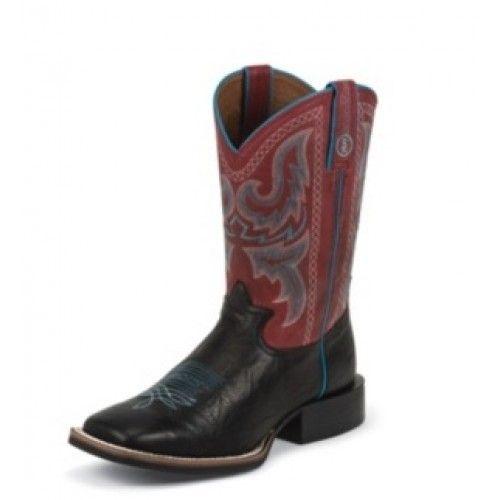 Tony Lama Men�s RRR Cowboy Boots Black