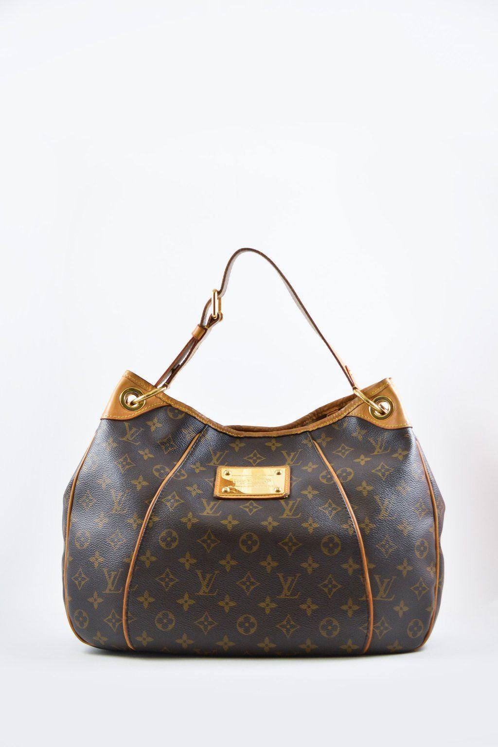 2b7ba290b60 Louis Vuitton Monogram Galleria PM Hobo bag (wear) | SHOP OUR BAGS ...
