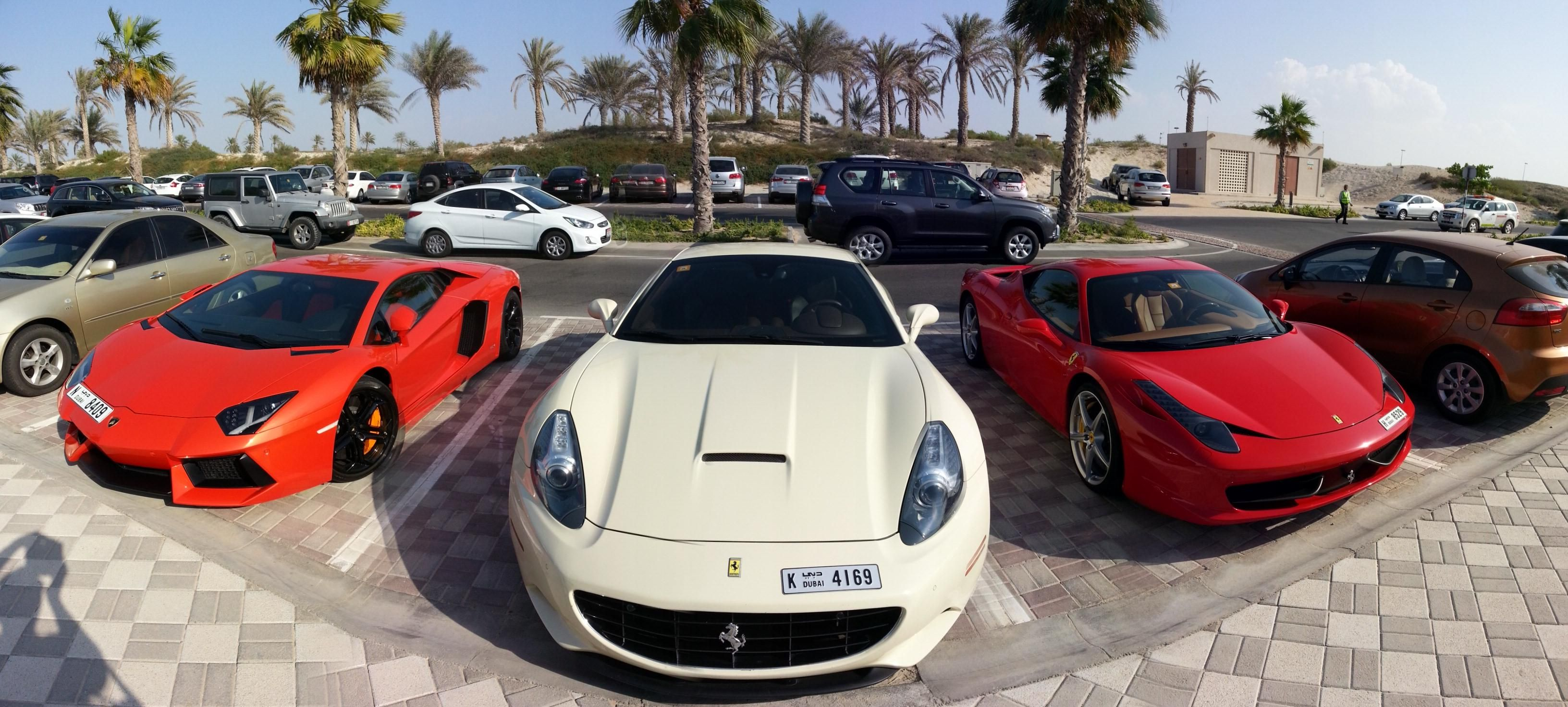 Dubai Police Impounded 81 Vehicles For Illegal Street Racing New Sports Cars Car Rental Company Luxury Cars