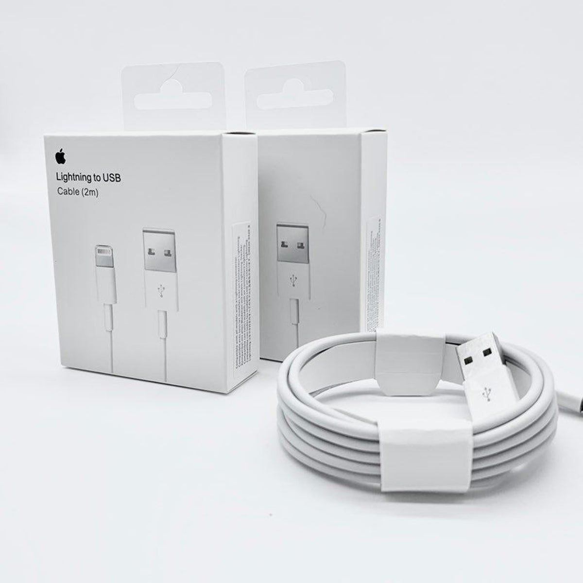 X2 Lot Iphone Charger Cables 2m 6ft In 2020 Iphone Cord Iphone Cable Iphone Charger Cord