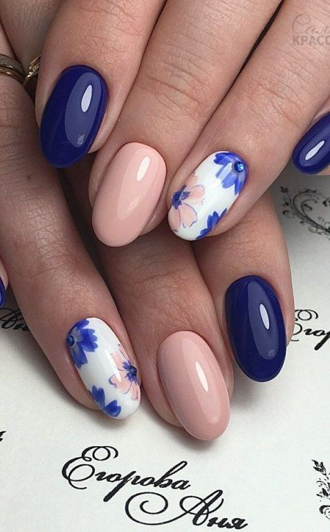 Photo of The 45 pretty nail art designs that perfect for spring looks 8