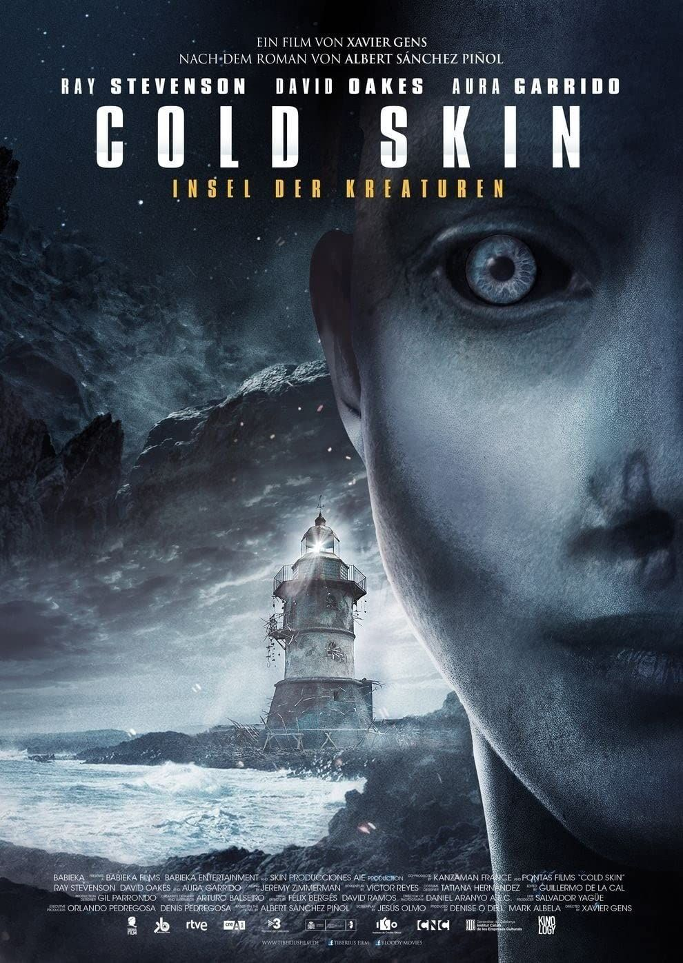 Cold Skin 2017 In 2021 Skins 2017 Ray Stevenson Full Movies