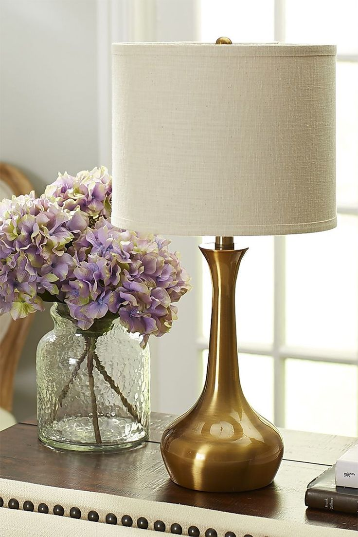 There S A Reason We Call This The Pier 1 Genie Table Lamp Because With Its Glamorous Iron Base And Oversize Table Lamps Living Room Gold Home Decor Table Lamp