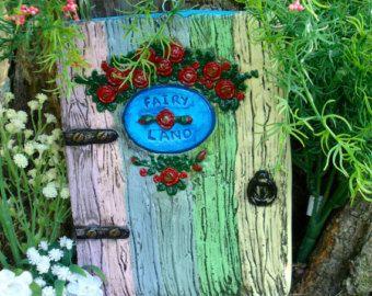 Fairy Door, Fairy garden door, Outside decor, outside decoration, Magic door, Faerie door, gifts for mum, Housewarming, garden fairy door
