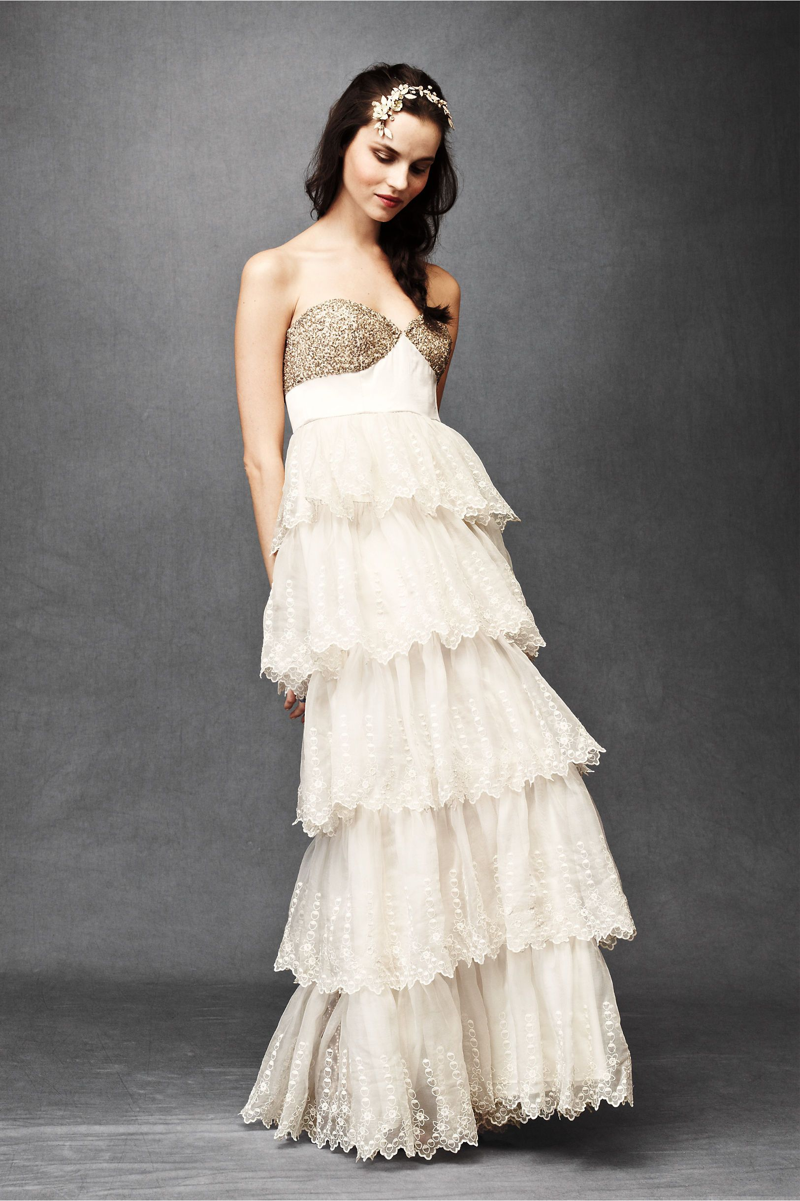 Burnished organza gown from bhldn cosas que me gustan pinterest