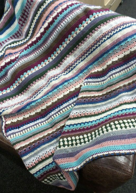 Finished Spice of Life CAL Blankets   Pinterest   Decken ...