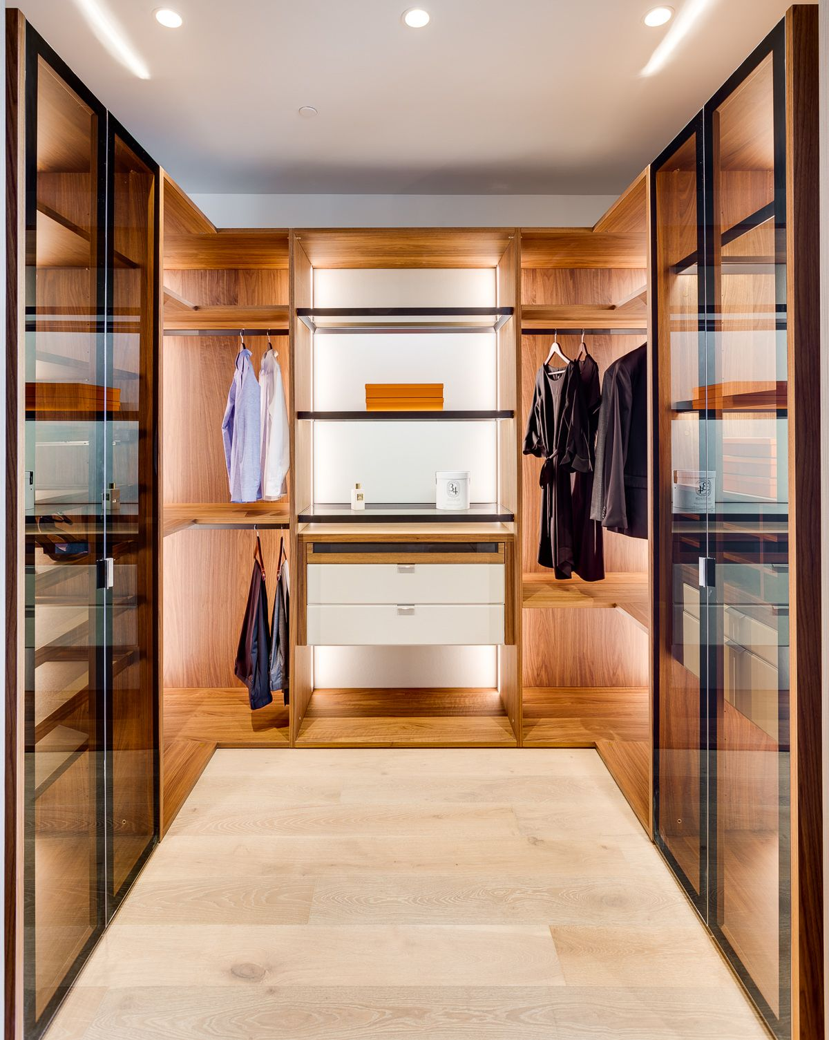 Italkraft Closets Una Residences Miami Custom kitchens