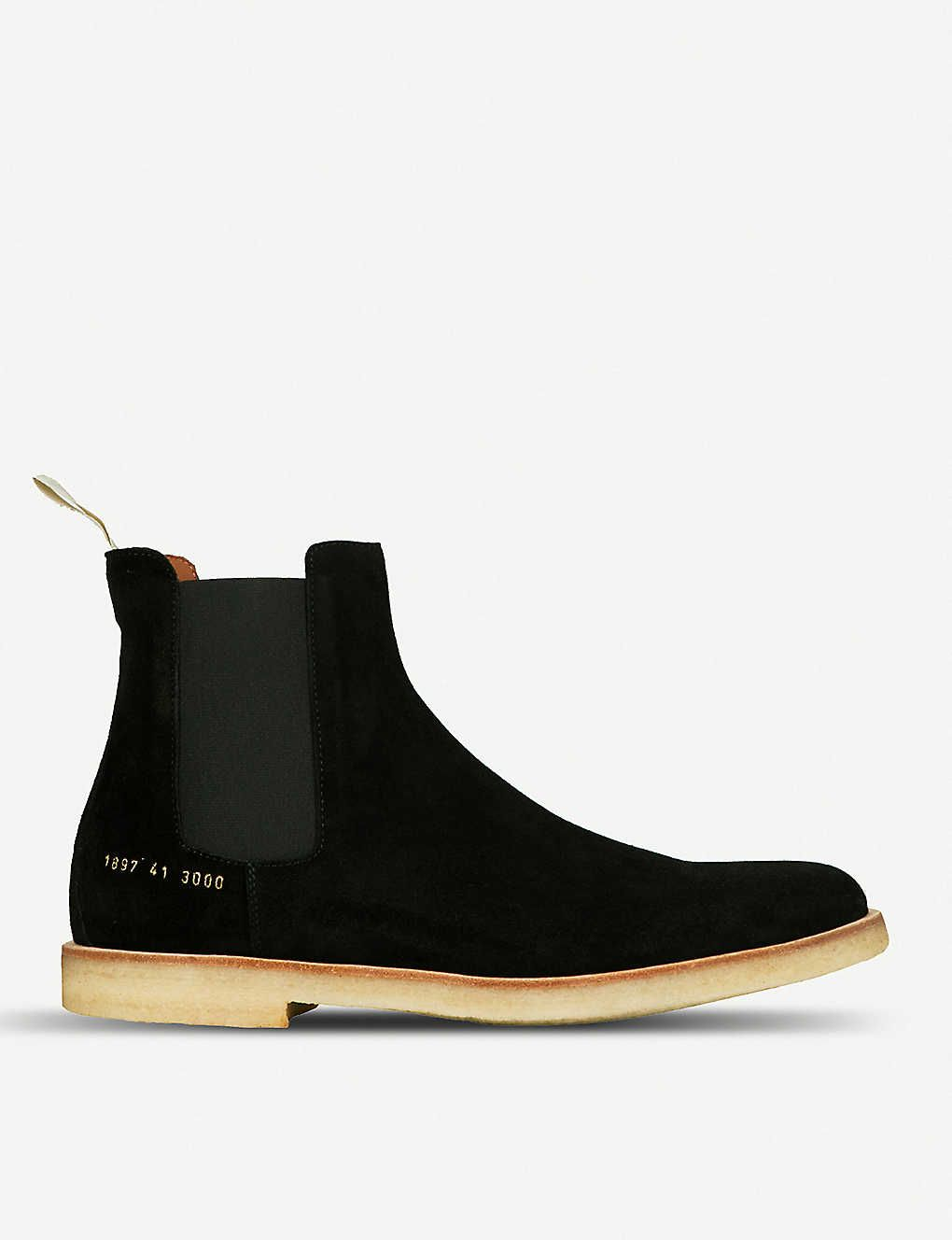 Round-toe suede Chelsea boots | Chelsea