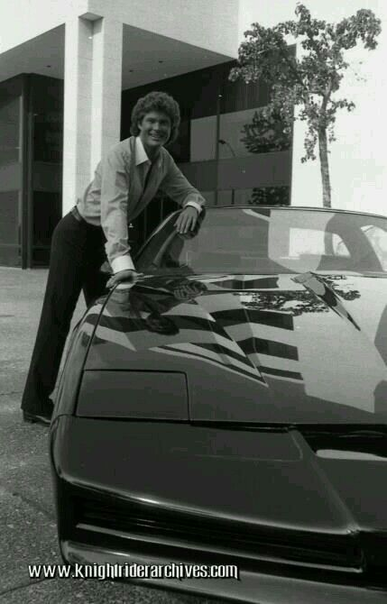 Michael With Knight Industries Two Thousand Kitt Knight Rider Rider Super Cars