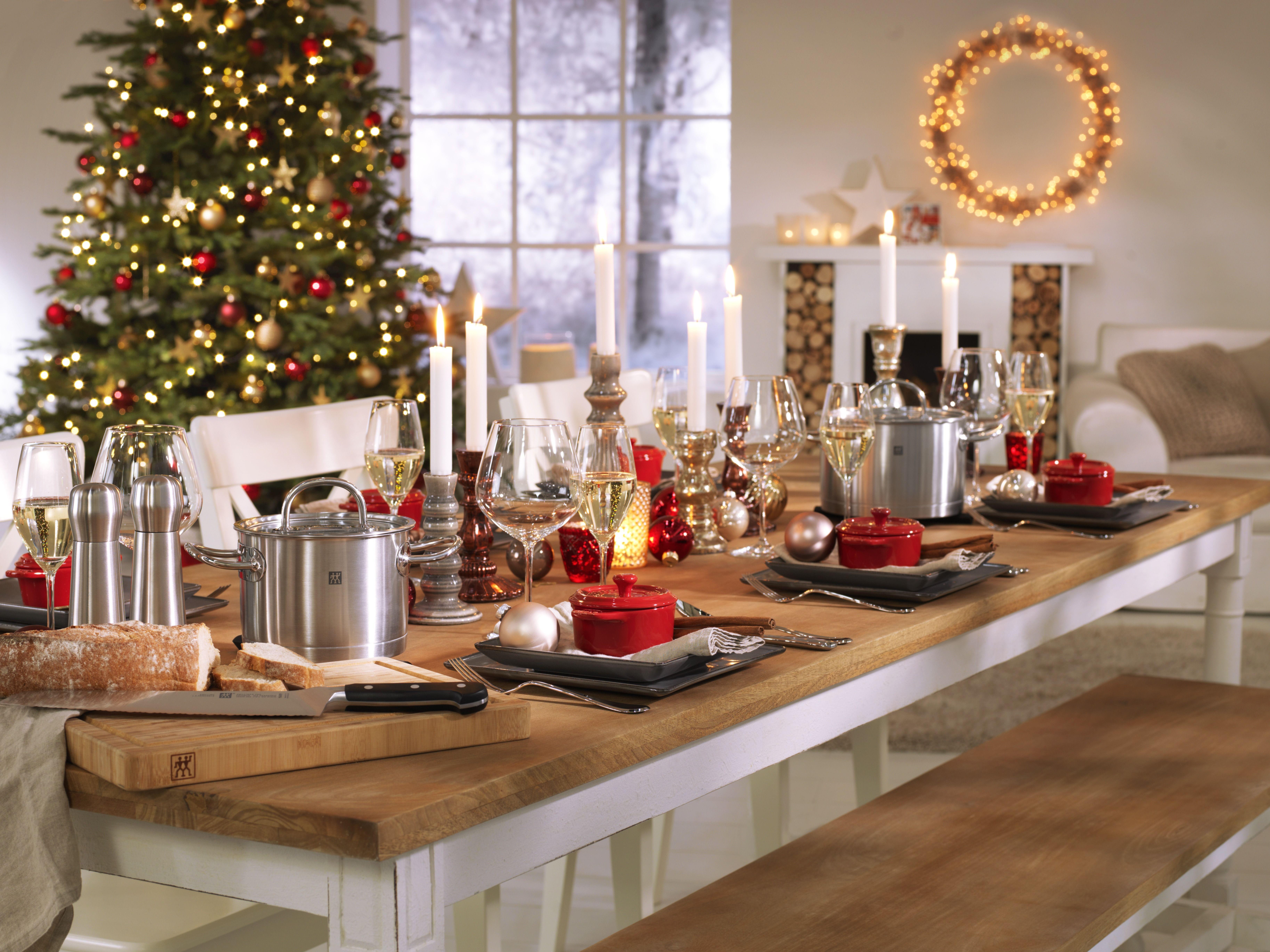 Zwilling Küchenhelfer ~ Zwilling weihnachtstafel tischdeko zu weihnachten