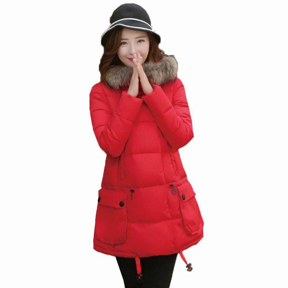 Winter Warm Maternity Coat Warm Down Jacket Pregnant Plus ...