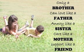 Birthday Quotes For Elder Brother From Sister Brother Sister