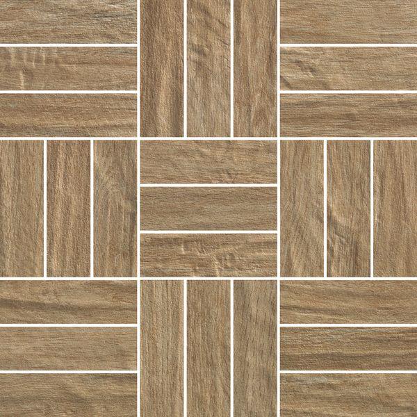 Berkshire Wood Look Tile In Brick Basket Weave Pattern