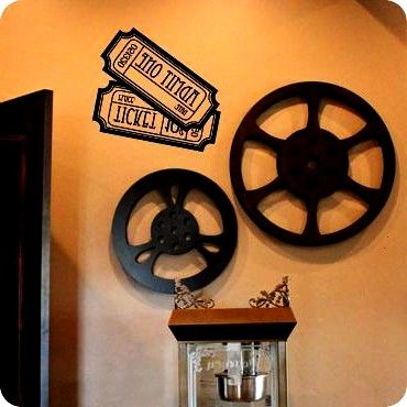 Admit One  Ticket 10 Cents Dieses VinylWandtattoo würde die Kinokarten Admit One  Ticket 10 Cents Dieses VinylWandtattoo würde die  Wall Decals  Home Theater De...