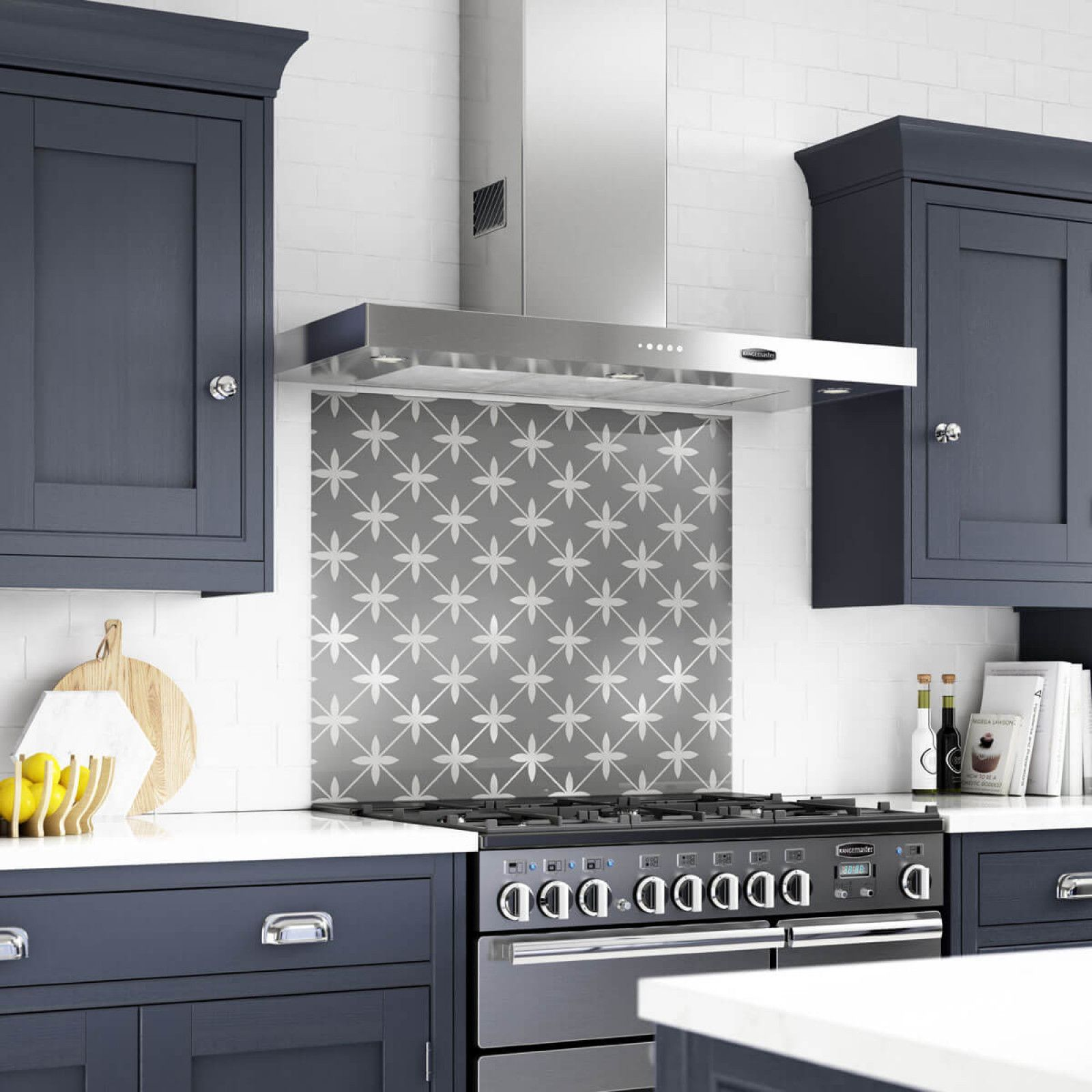 The Wicker Charcoal 900x750mm Splashback from the Statement Prints range  combines timeless elegance with a contemporary f324a28e7