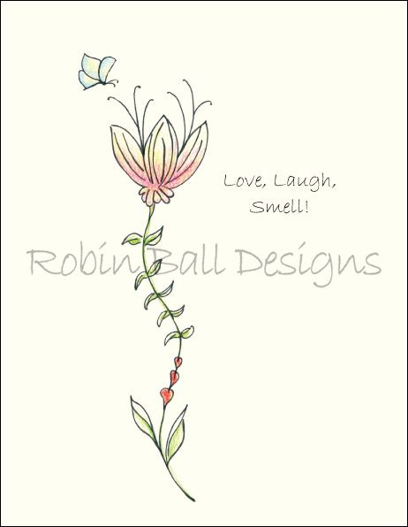 $2.75 Love, laugh, smell! Handmade in the USA, limited-edition greeting card. Also Available in Boxed Sets. FREE SHIPPING