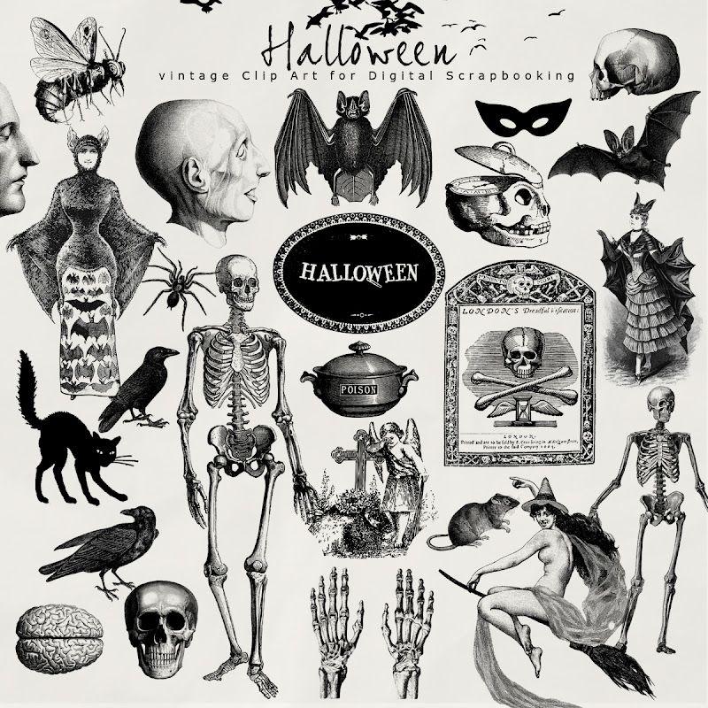 DIY - Free halloween printables (Source : http://farfarhill.blogspot.nl/2012/08/today-i-want-present-to-you-new-kit-of.html)