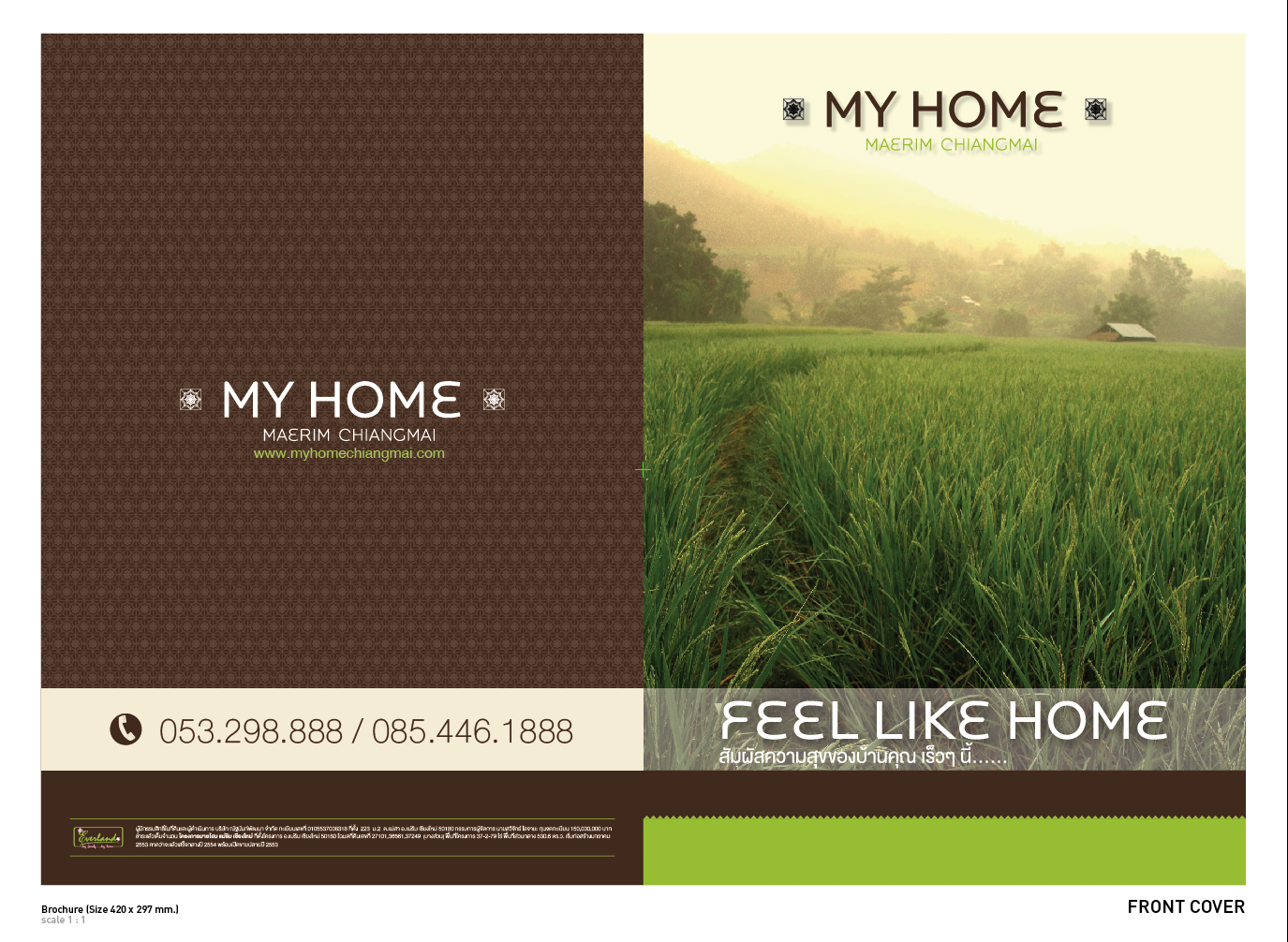 My Home Chiangmai Brochure Draft Ace Design Koradon