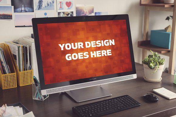 Windows Pc Mock Up 11 Mockup Business Card Mock Up Mocking
