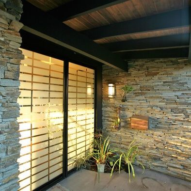 Nice Ideas For Window Privacy | Window Film Design Ideas For Patio Door Privacy.  Still Get