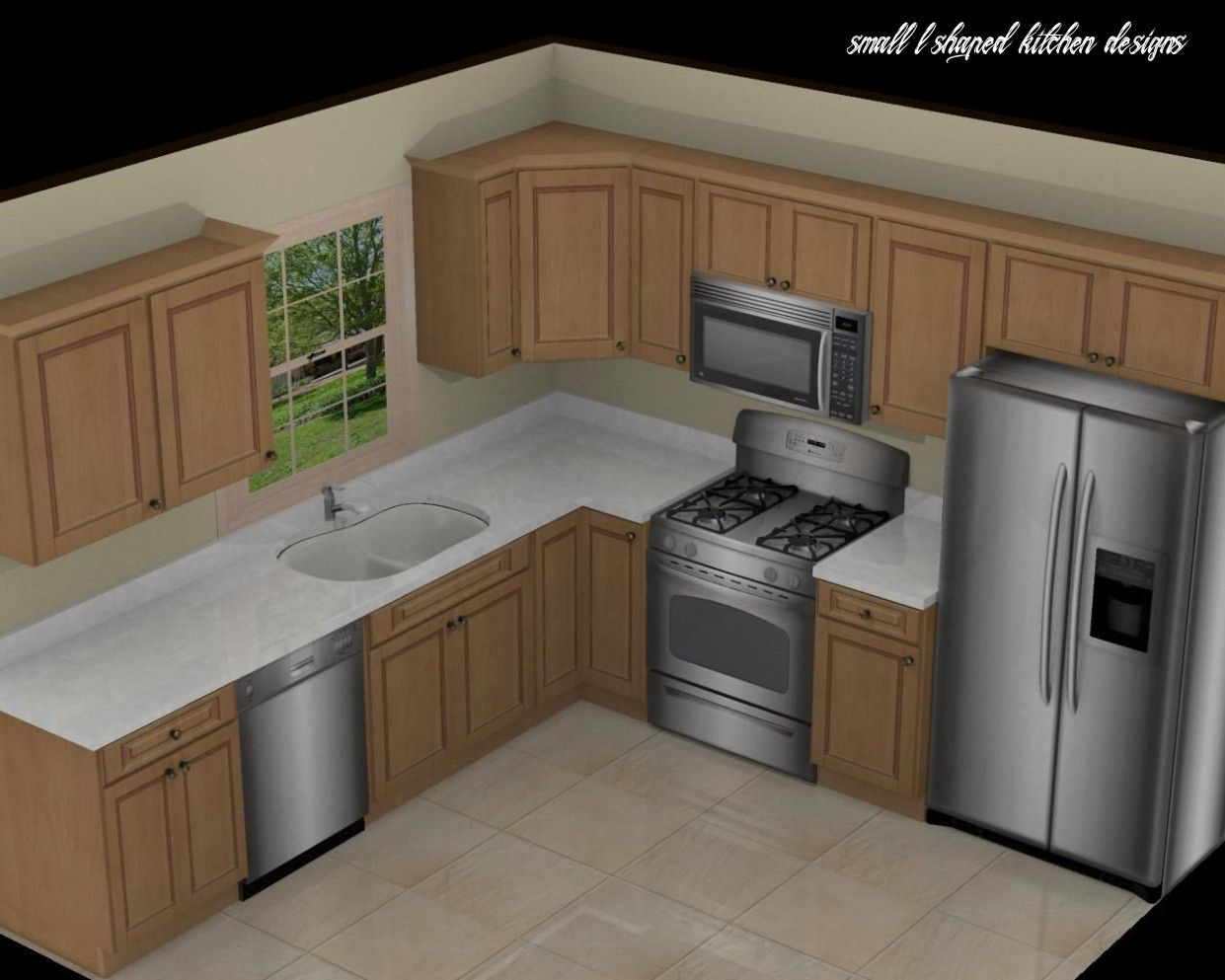 This Is How Small L Shaped Kitchen Designs Will Look Like In 10 Years Time In 2020 Small Kitchen Design Layout Kitchen Layout Kitchen Designs Layout