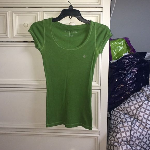 Short Sleeved Green Aeropostale Top In Perfect Condition Aeropostale Tops Tees - Short Sleeve