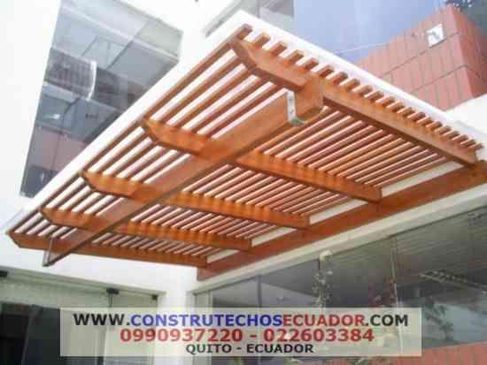 Image result for pergolas en madera y policarbonato for Pergola policarbonato