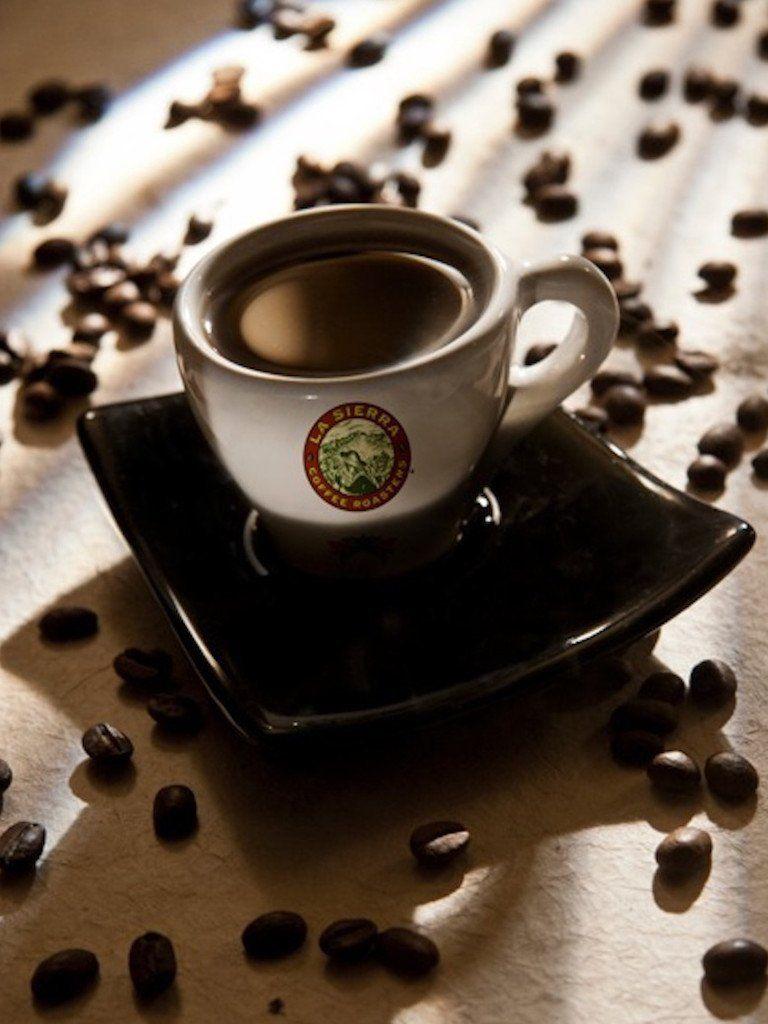 La sierra hazelnut flavored coffee medium dark craft