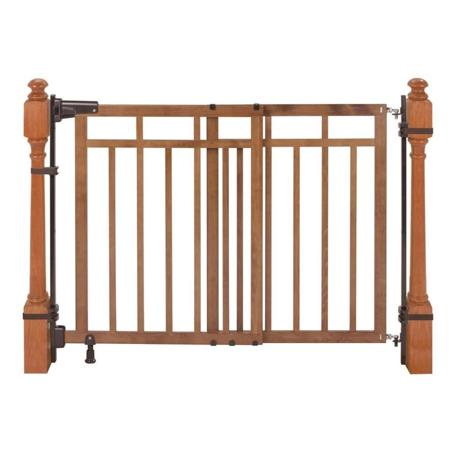 Summer Infant 48in x 33in Oak Wood Child Safety Gate