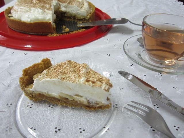 Torta banoffee tradicional