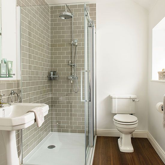 Amazing Grey And White Tiled Bathroom | Bathroom Decorating | Ideal Home |  Housetohome.co.uk