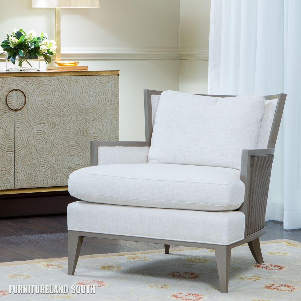 Baker Furniture Barbara Barry California Cane Lounge Chair