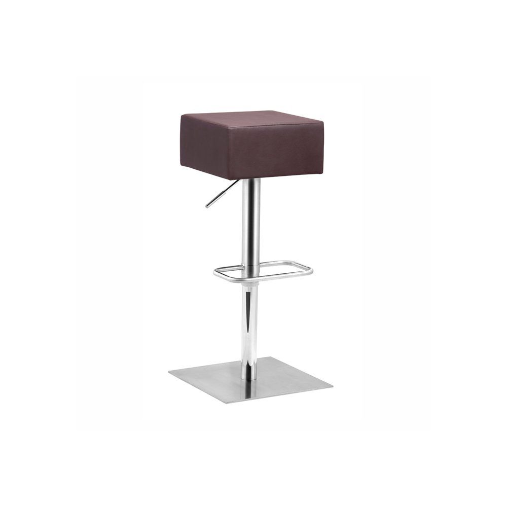 Butcher Barstool with Square Seat