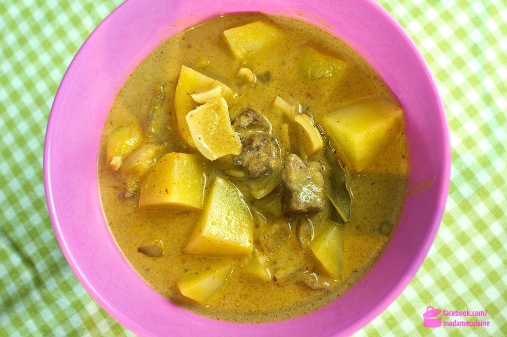 Massaman Curry Kaeng Masaman Madame Cuisine Garnelen Curry Blumenkohl Curry Rezepte