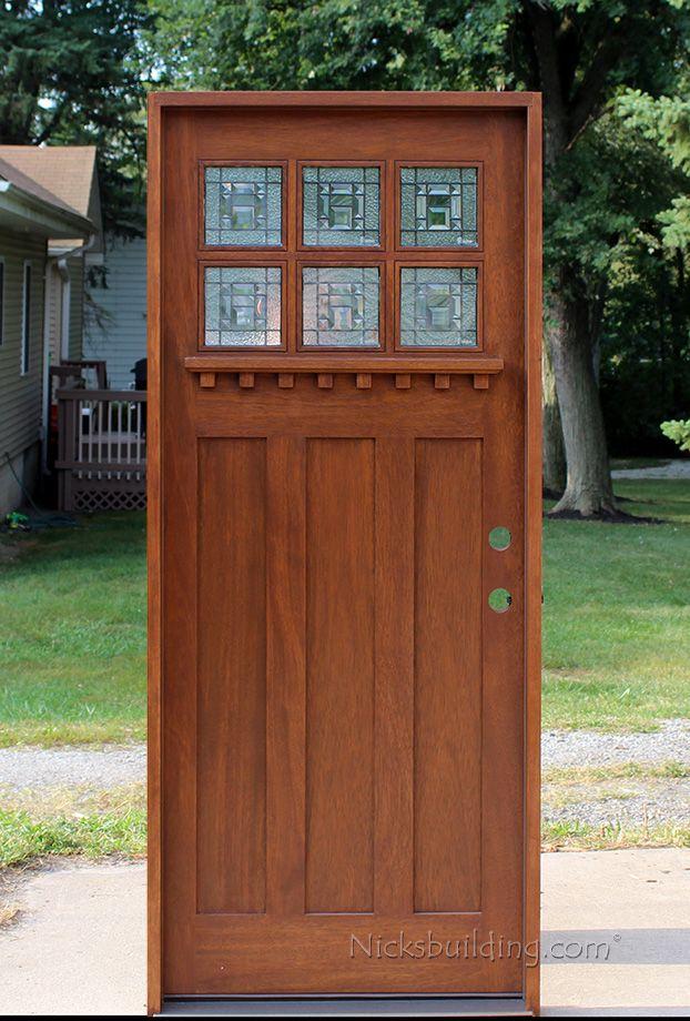 Craftsman Style Doors #craftsmanstylehomes