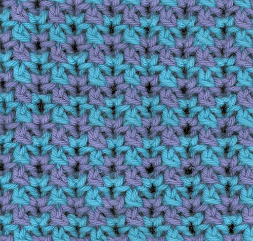 This Charming Stitch Pattern Is Based On The Portcullis Stitch From