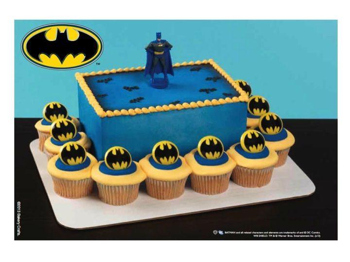 Batman Cake Cupcake Combo Batman Cake Cake Kit Cake