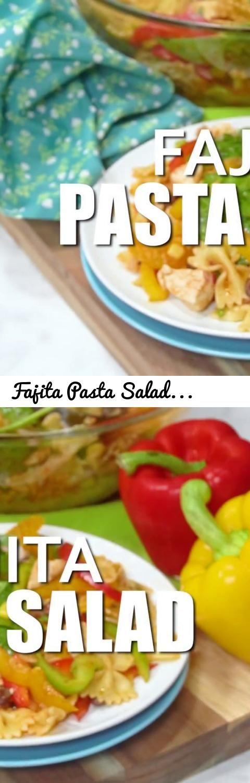 Fajita pasta salad recipe amazing lunch dinner or party side tags food recipe randa derkson fajita pasta salad recipe fajita pasta salad cooking channel zesty fajita vinaigrette pasta salad recipe forumfinder Gallery