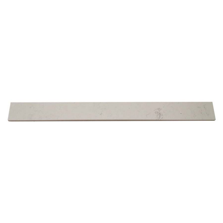 Shop White Cultured Marble Indoor Only Tile Threshold Common 4 In X 36 In Actual 3 9 In X 35 9 In At Lowes Com With Images Cultured Marble Tiles White Shop