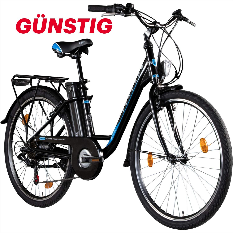 Zundapp E Bike 26 Zoll Citybike Pedelec Z500 E Damenrad